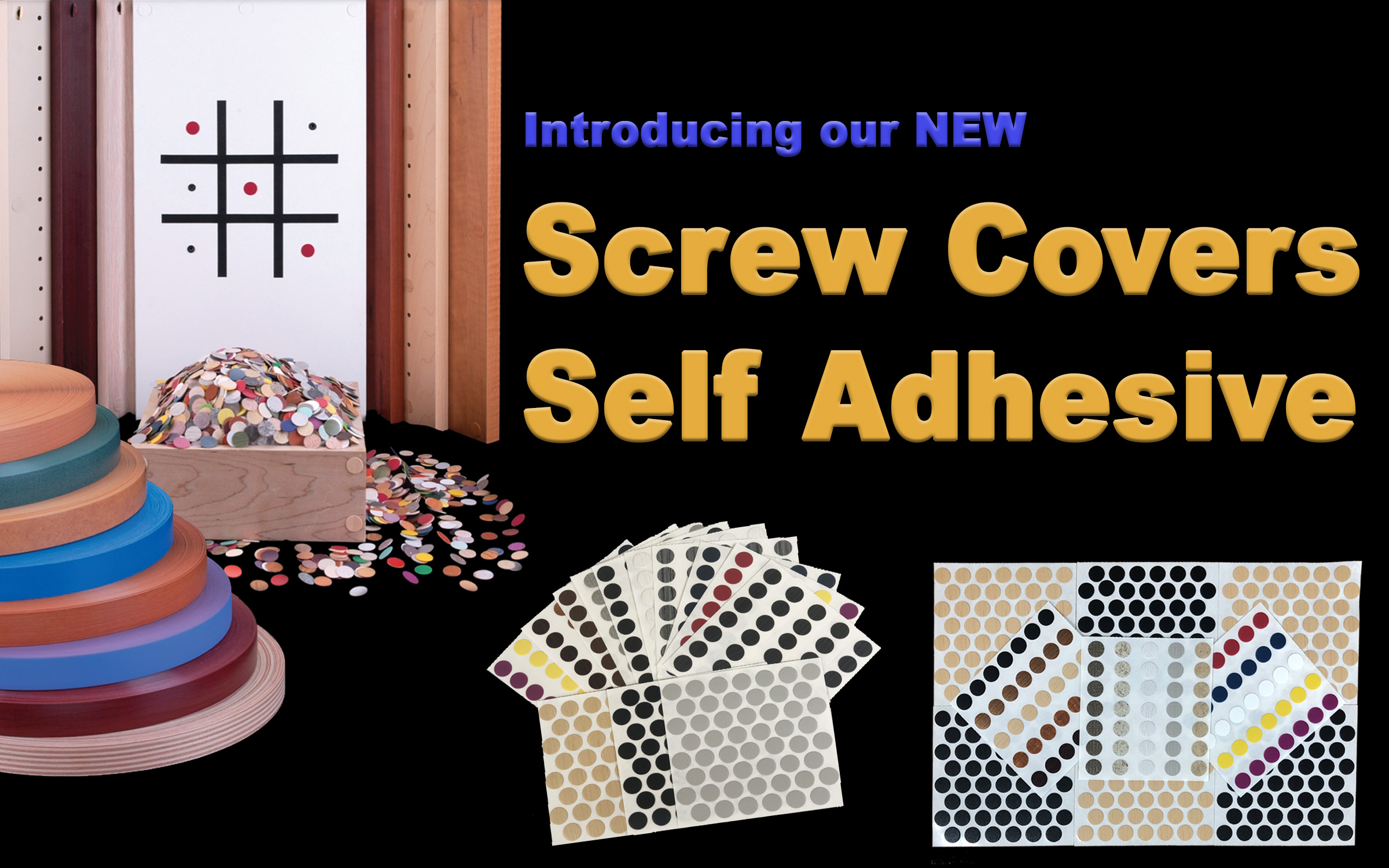 Screw Covers Self Adhesive